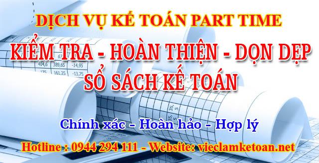 Dịch vụ dọn dẹp sổ sách kế toán tại Kiên Giang