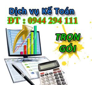 dịch vụ kế toán trọn gói bán thời gian