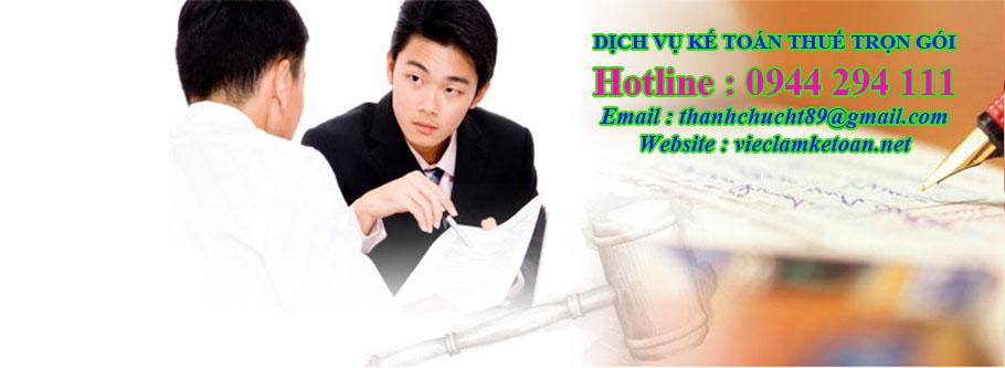 Dịch vụ kế toán thuế bán thời gian