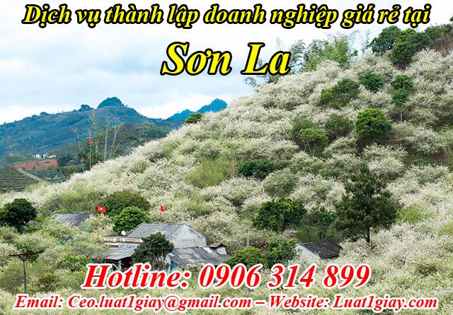 dịch vụ thành lập công ty giá rẻ nhất tại Sơn La
