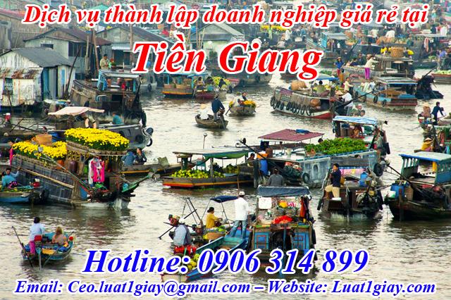 dịch vụ thành lập công ty giá rẻ nhất tại Tiền Giang