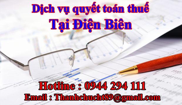 Dịch vụ quyết toán thuế trọn gói tại điện biên