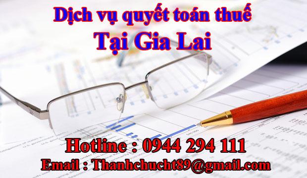 Dịch vụ quyết toán thuế trọn gói tại gia lai