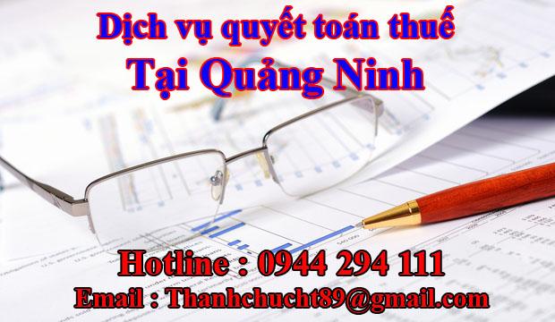 Dịch vụ quyết toán thuế trọn gói tại quảng ninh