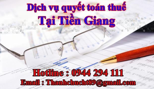 Dịch vụ quyết toán thuế trọn gói tại tiền giang