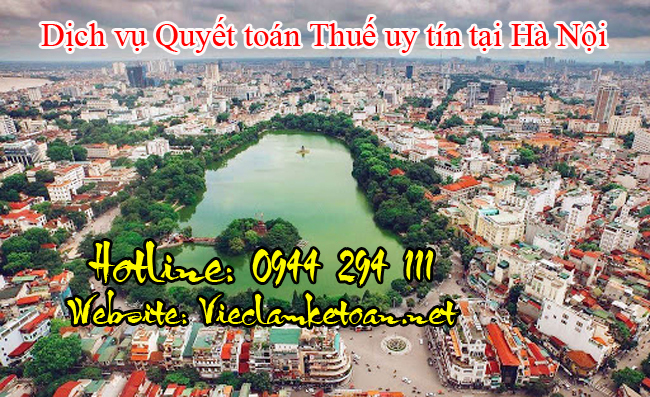 Dịch vụ quyết toán thuế trọn gói tại Hà Nội giá rẻ