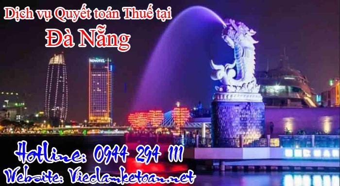 Dịch vụ quyết toán thuế trọn gói tại Đà Nẵng giá rẻ