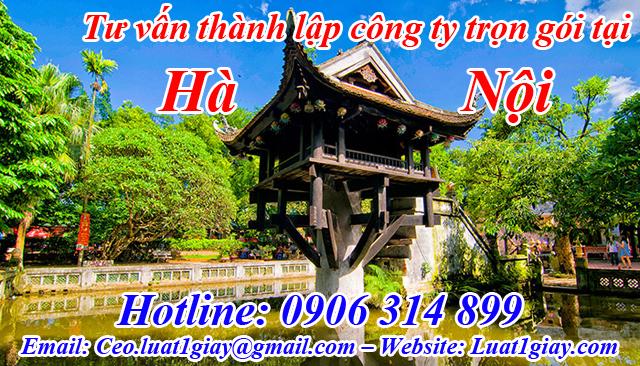 thành lập công ty nhanh chóng giá rẻ tại Hà Nội
