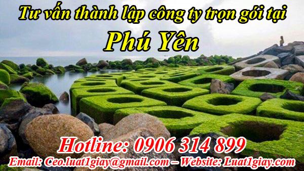 thành lập công ty nhanh chóng giá rẻ tại Phú Yên