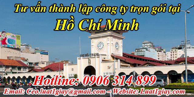dịch vụ thành lập công ty giá rẻ nhất tại TPHCM