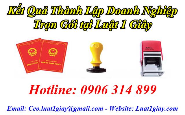 thành lập công ty tnhh 1 thành viên nhanh chóng giá rẻ tại Hà Nội