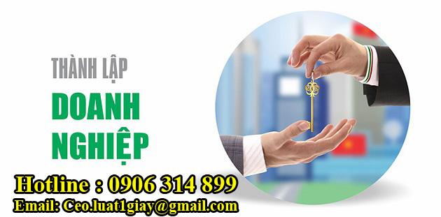 dịch vụ thành lập doanh nghiệp tại TPHCM giá rẻ